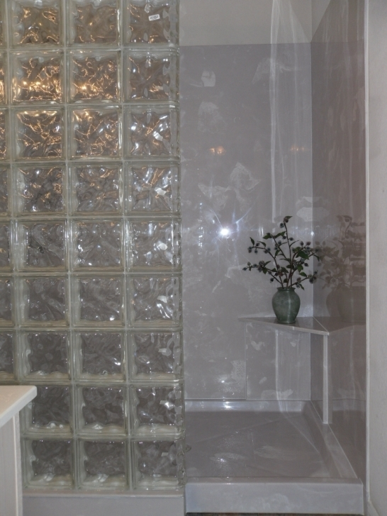 Inspiring Cultured Marble Showers With Glass Block Doctor Marble Pic