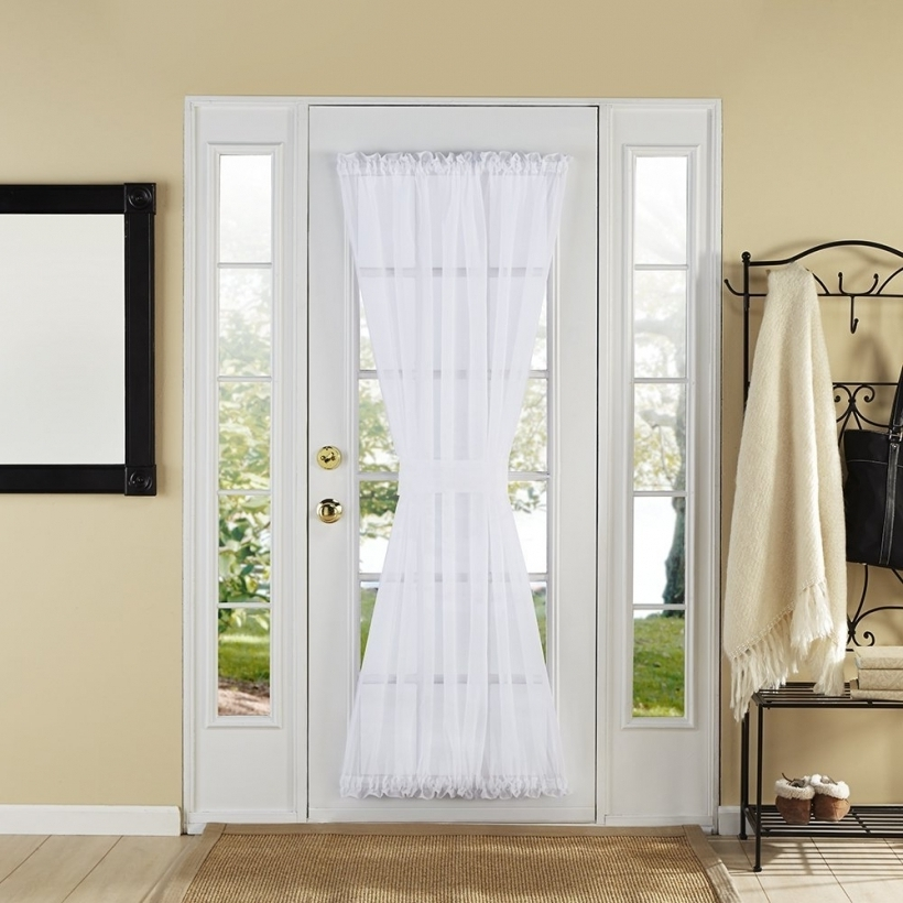 Lovely Sidelight Blinds Front Door Window Images