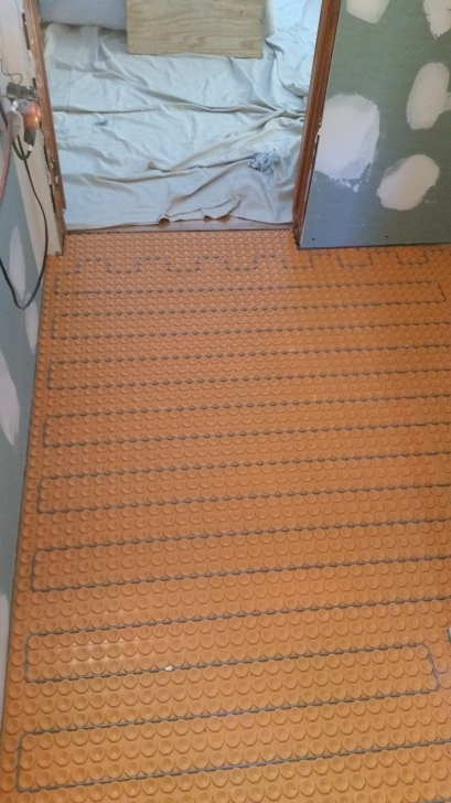 Nice Heated Bathroom Floors To Electric Radiant Keeps Toes Toasty Manchester Plumbers Pictures
