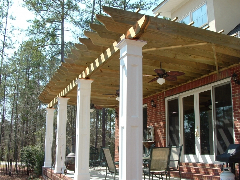 Nice Pergola Front Porch Designs Spaw Pictures