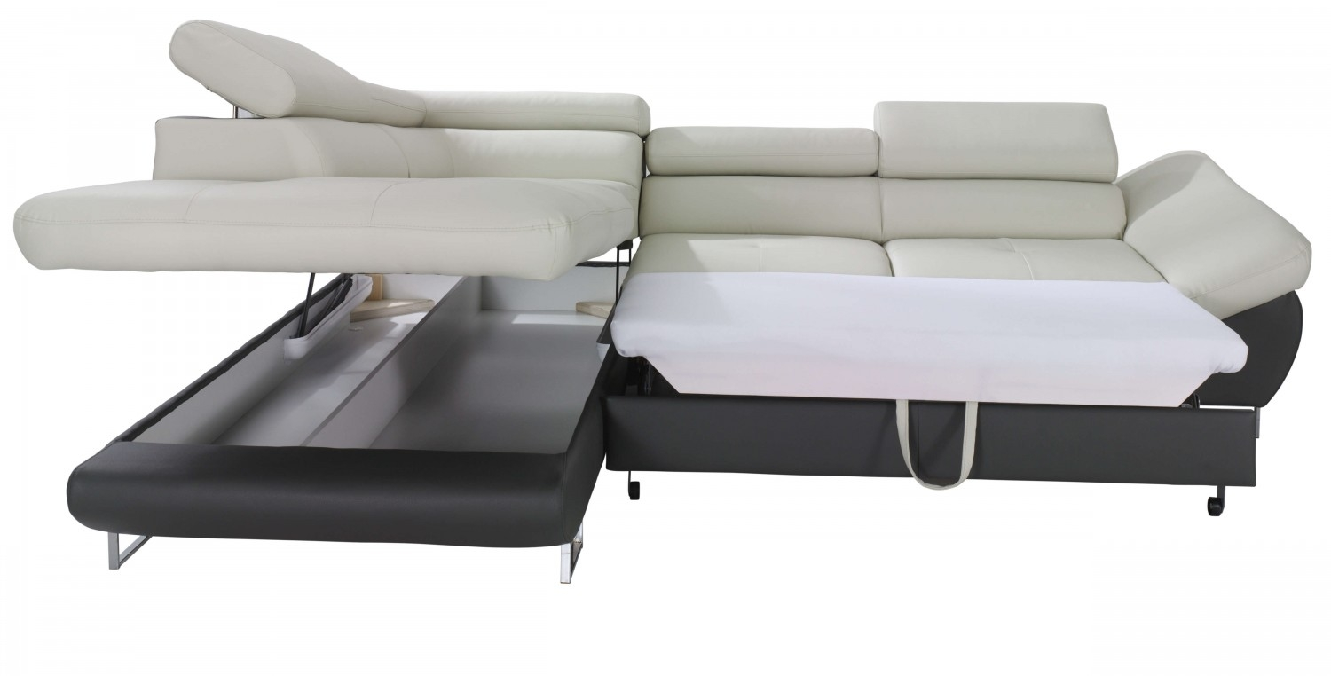 Nice Sofa Sleeper With Storage For Creative Design Fabio Sectional Sofa Sleeper