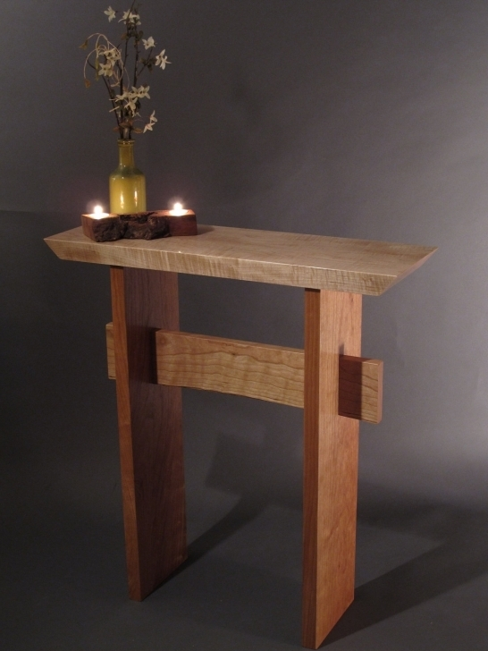 Outstanding Small Entry Table Wood Entry Table Pic