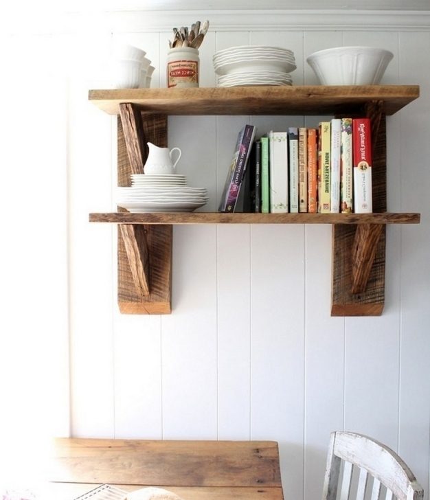 Stunning Rustic Wooden Shelving Units Reclaimed Wood Versatile Rustic Shelving Units Photos