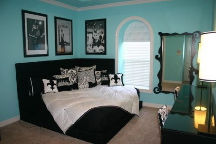 Stylish Tiffany Blue Paint Color Inside Old Decoration Ideas Photos