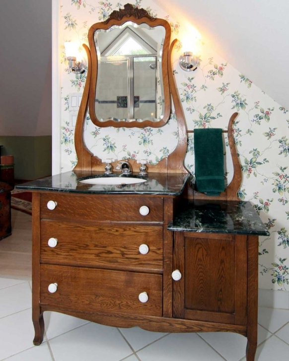 Antique Dry Sink Vanity Inside Built Ins And Cabinetry Pictures