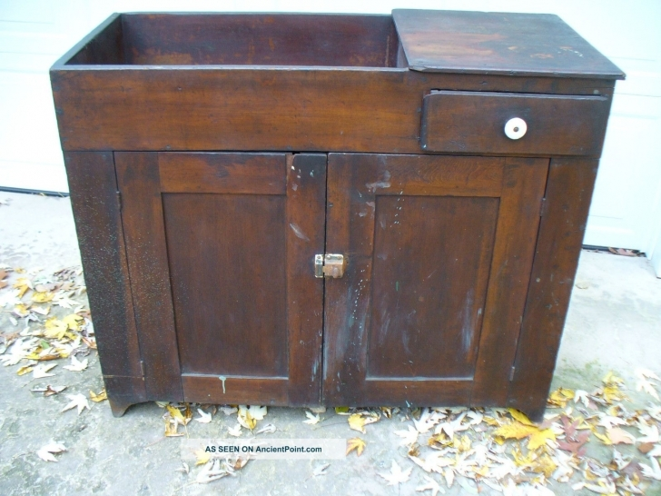 Antique Dry Sink Vanity With Regard To Pennsylvania Dry Sink Photos