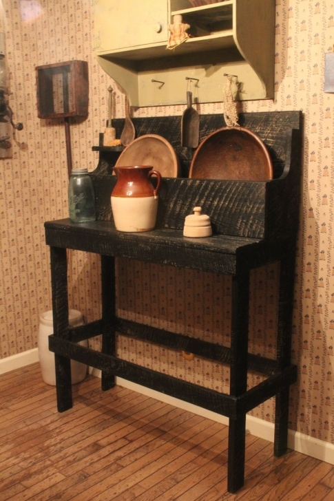 Antique Dry Sink Vanity Within Awesome Black Primitive Dry Sink Decoration Ideas Images
