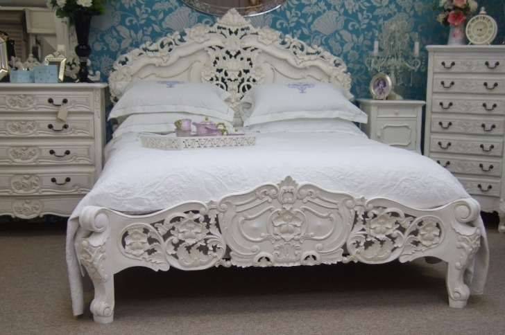 Brilliant Shabby Chic Bedroom Ideas Inside French Shabby Chic Bedroom Design Image
