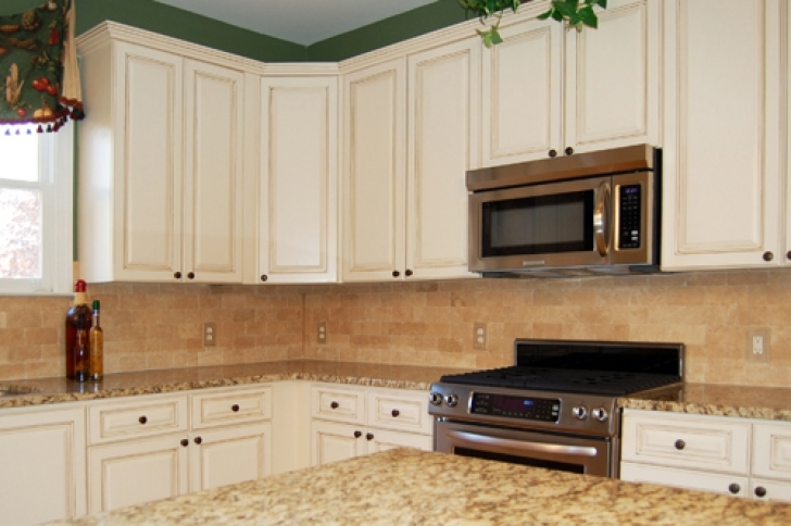 Chalk Paint Kitchen Cabinets Throughout Mary Anne Kitchen Cabinet Refinishing Process Photos