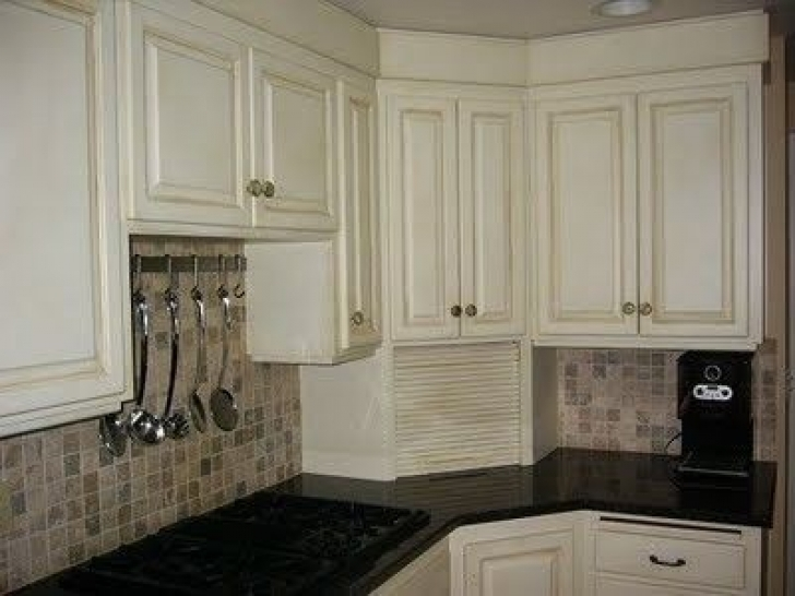 Chalk Paint Kitchen Cabinets Within When Redoing The Kitchen Cabinets Picture