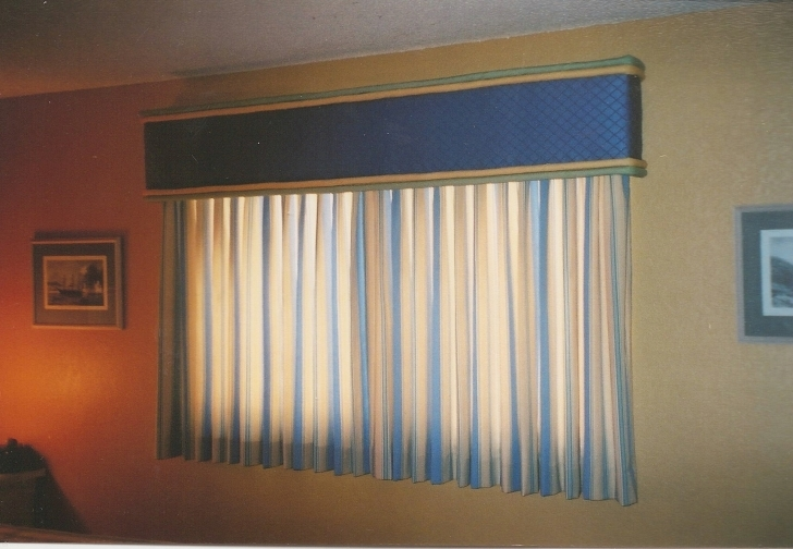 Cornice Board Ideas In Excellent Window Cornice Blue Color Ideas Pic