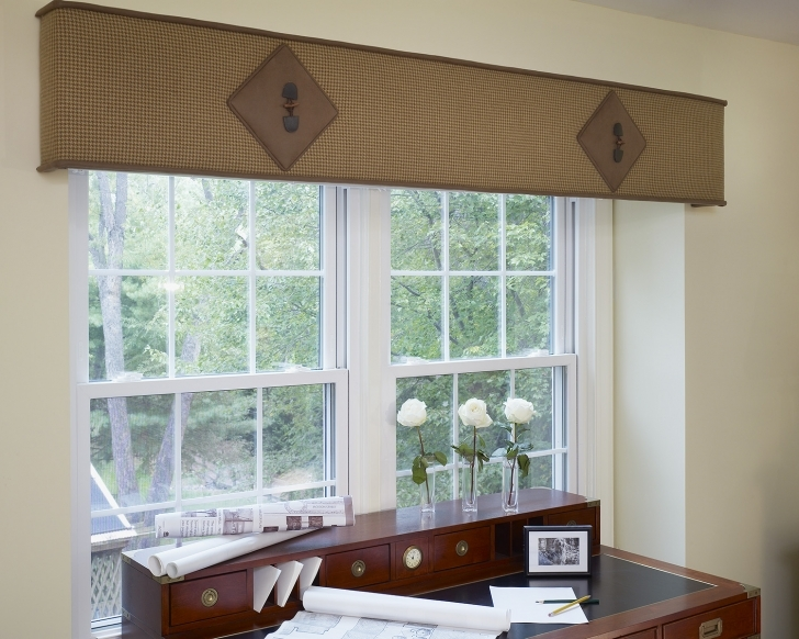 Cornice Board Ideas Regarding Amazing Leather Cornice Suggestions Pics