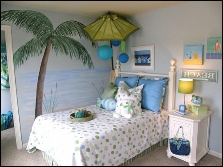 Cozy Beach Themed Bedroom Decor With Regard To Home Designs Decoration Photo