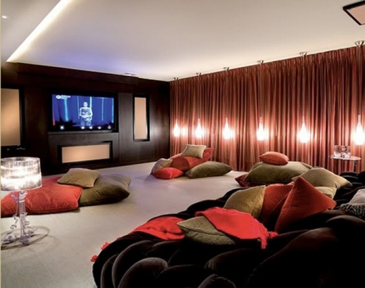 Incredible Home Theater Seating Design Ideas