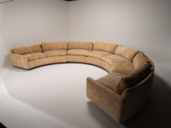 Curved Sectional Sofa Slipcovers Living Room Inside Wonderful Grey Velvet Curved Couch Without Cushions And White Wall Painted Color Photos
