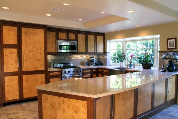Custom Kitchen Cabinets Throughout Stylish Southern California Images