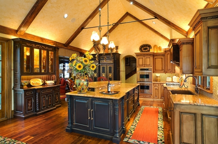 Custom Kitchen Cabinets With Marvelous Amish Country Kitchen Cabinets Images