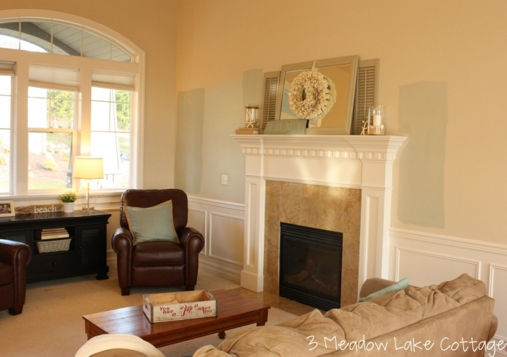 Delightful Sherwin Williams Paint Colors For Family Rooms With Project Meadow Lake Road Pictures