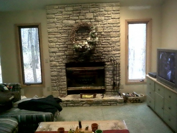 Faux Painting Brick Fireplaces Diy Home Design Ideas Pics