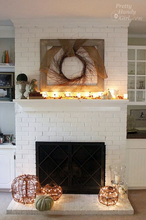 Faux Painting Brick Fireplaces Pretty Handy Girl Photos