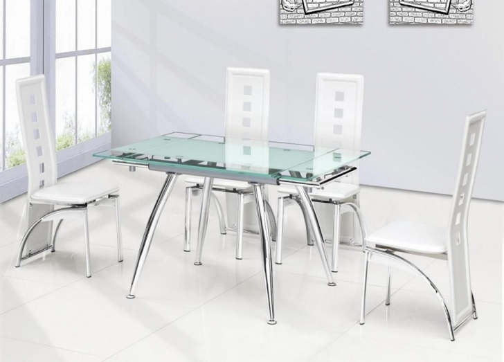 Glass Kitchen Tables For Small Spaces Regarding Marvelous Best Kitchen Tables Design And Decoration Images