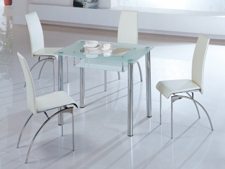 Glass Kitchen Tables For Small Spaces Regarding Marvelous Kitchen Furniture Elegant Tall Dining Tables Pictures