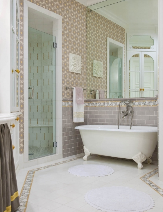 Great Small Bathroom Remodeling Subway Tile Inside Design Inspiration Ideas Photo