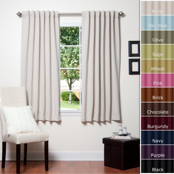 Home Hardware Decorating Ideas Within White Blackout Curtains