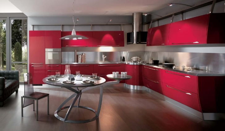 Modern Italian Kitchen Design Minimalist