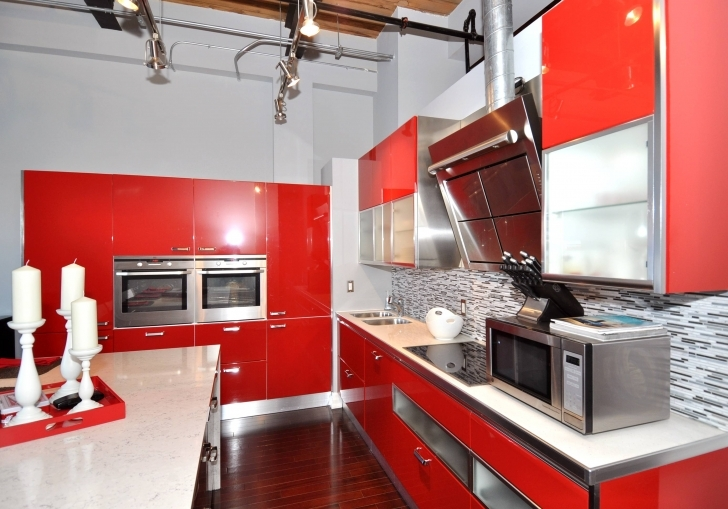 Italian Kitchen Design Throughout Delightful Interior Febal White And Red Photos