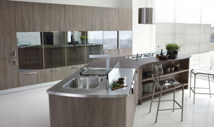Italian Kitchen Design Throughout Fascinating Metal Top Design Of Italian Kitchen  Pictures