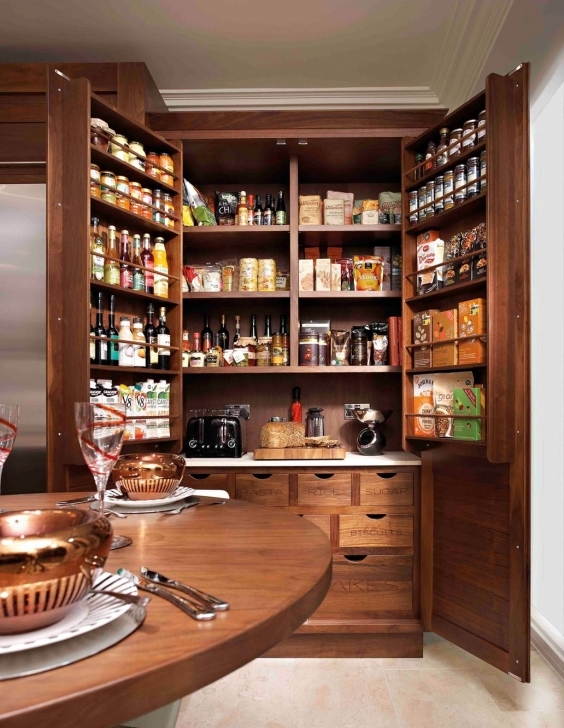 Kitchen Pantry Cabinet Ideas Inside Modern Home Design Image