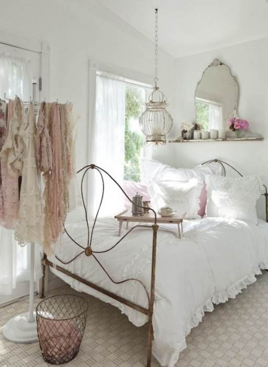 Marvelous Shabby Chic Bedroom Ideas Regarding Shabby Chic Room Decor Design Image