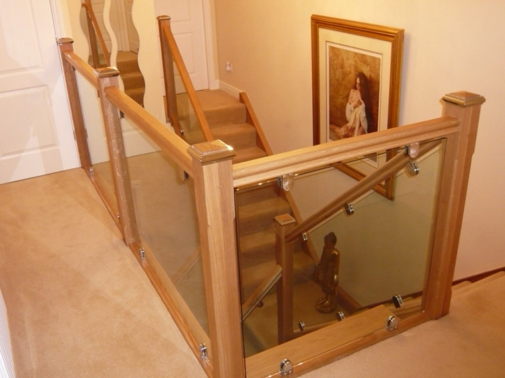 Oak Staircase Design Landing Photos