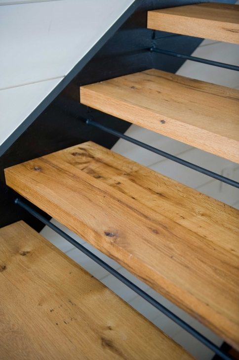 Oak Staircase Design Reclaimed White Oak Stair Treads Custom Picture