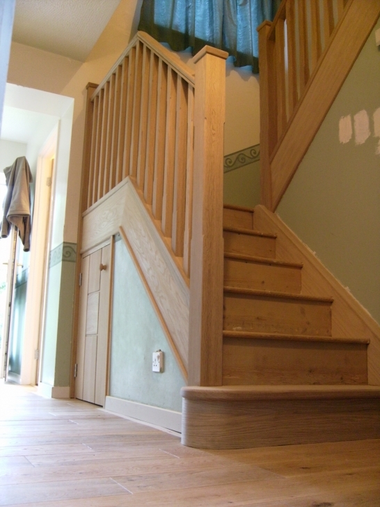 Oak Staircase Design Solid Pic