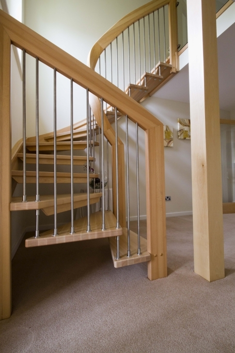 Oak Staircase Design Wooden Handle Banister Stair Case Designs Picture