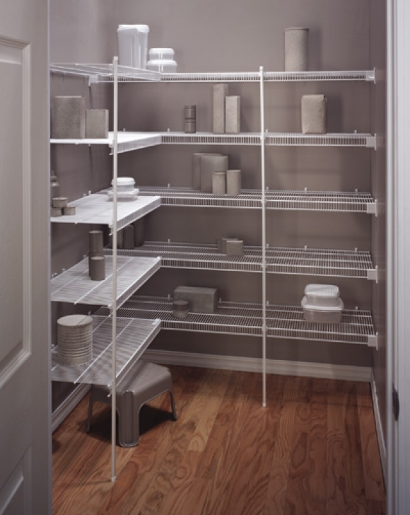 Wire Shelving Units for Closets Regarding New Orleans Custom Closets Systems Pantries Picture