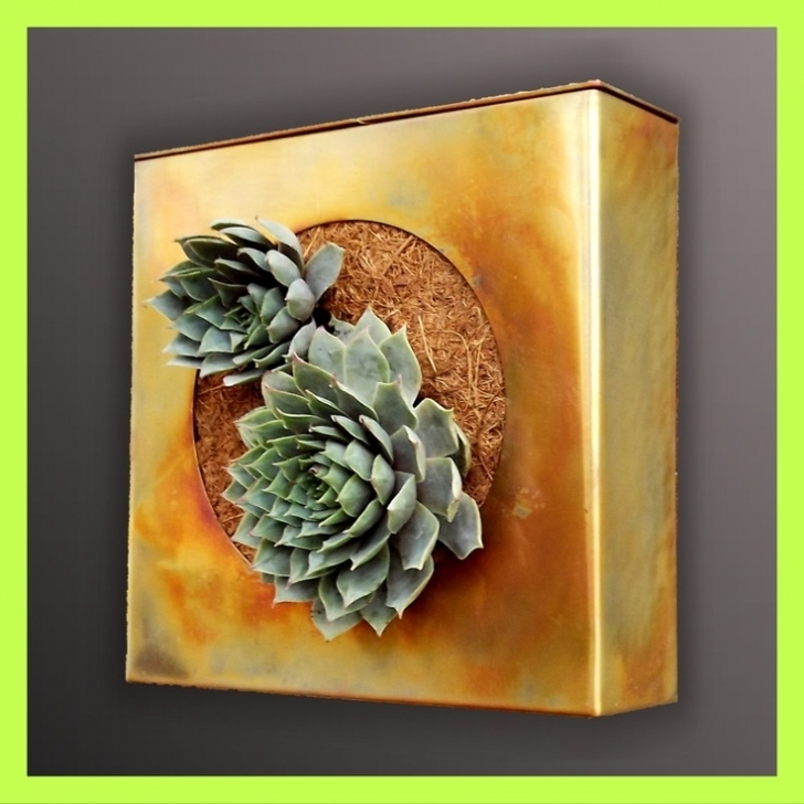Wall Art Matters Most In Interior Design Within Fascinating Planters Garden Art Gardening Succulent Garden Ideas Picture