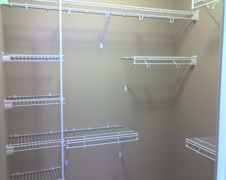 Wire Shelving Units for Closets With White Color With Multi Size Photos