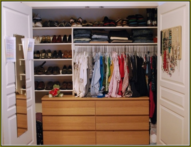 Wire Shelving Units for Closets With Wood Closet Shelving Units Pic