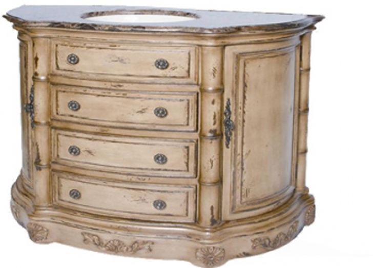 42 Inch Bathroom Vanity Cabinet Antique Furniture Soci Sarasota White 431