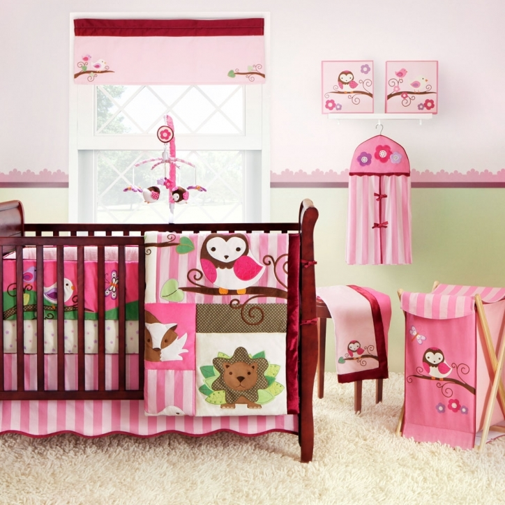 Baby Crib Bedding Sets Pink Design Ideas Photos