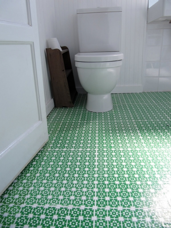 Bathroom Flooring Ideas Vinyl|Vinyl Bathroom Flooring Ideas} Inside Stylish Ideas Installing Green Pattern 087