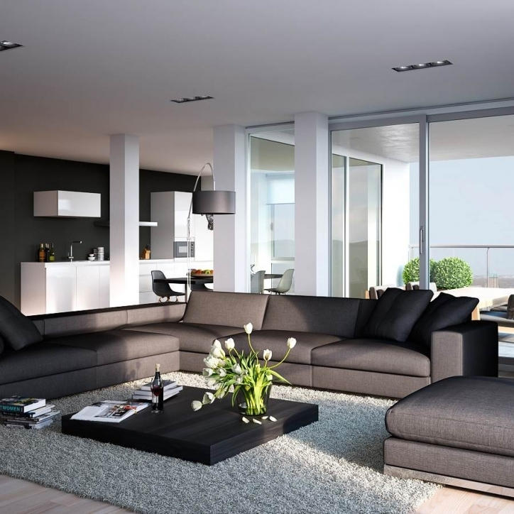 Beautiful Contemporary Living Room Furniture Ideas Inside Delightful Apartment Living Room Layout Trend Decoration Picture 088