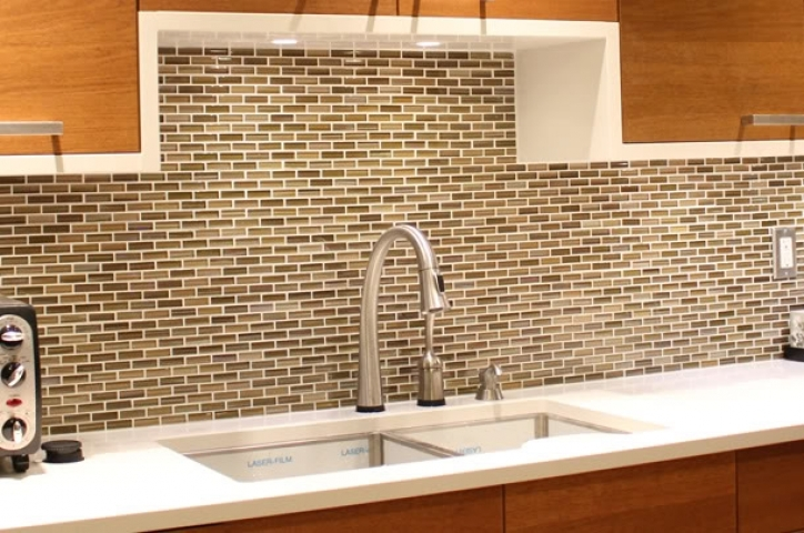 Cozy Mosaic Kitchen Backsplash Interior Designs 858