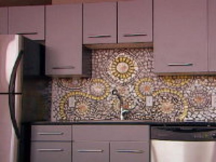Delightful Mosaic Kitchen Backsplash China Kitchenrk 327