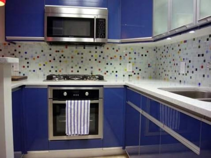 Delightful Mosaic Kitchen Backsplash Modern Glass Tiles 293