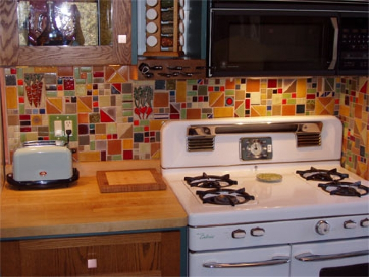 Fantastic Mosaic Kitchen Backsplash Lori Braun 291