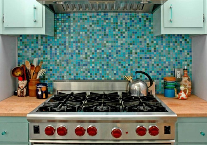 Fantastic Mosaic Kitchen Backsplash Tile Designs 830